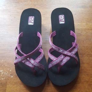 Teva Women's Wedge Ola Flip Flops